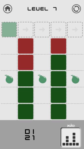 Hãy hoàn thành tất cả thử thách trong game Xếp gạch theo mẫu