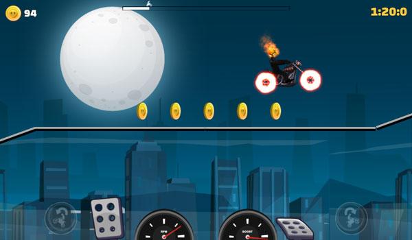 Chơi game Ma tốc độ đua xe máy