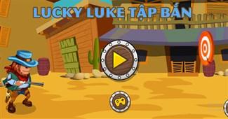 Lucky Luke tập bắn