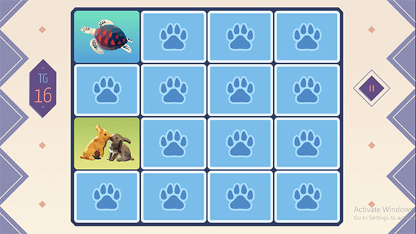 Tìm cặp hình con vật