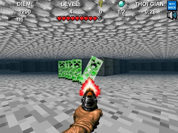 Chơi game Mê cung Minecraft tại GameVui