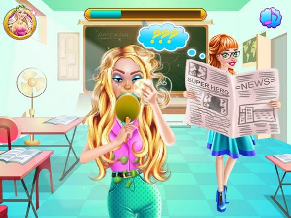 Chơi game Công chúa lén trang điểm tại GameVui