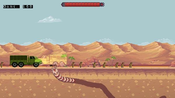 Chơi game Sâu đất khổng lồ 2 tại GameVui