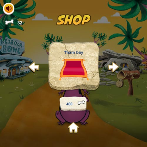 Shop cửa hàng trong game Khủng long Subway Surfers