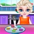 Elsa làm bánh cầu vồng 2