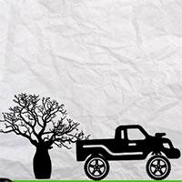 Lái xe địa hình trên giấy