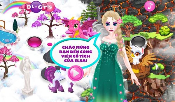 Chọn các loài vật chăm sóc cùng Elsa