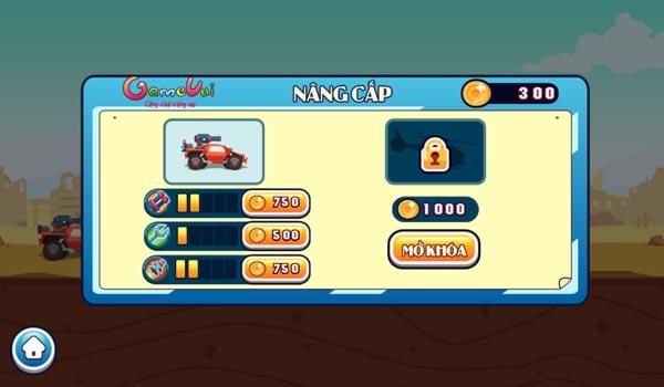 Chơi game Đua xe chiến đấu tại GameVui