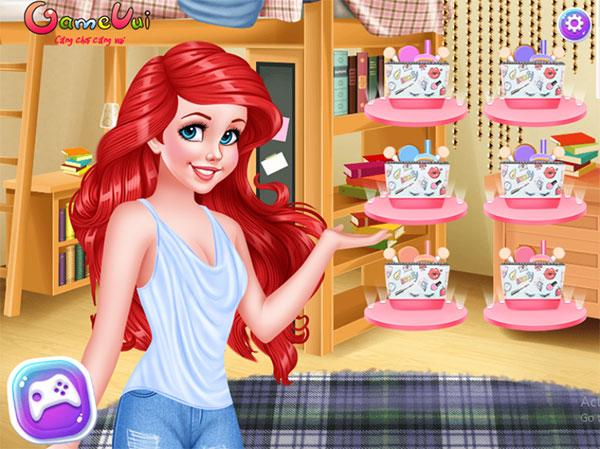 Hãy trang điểm cho Ariel