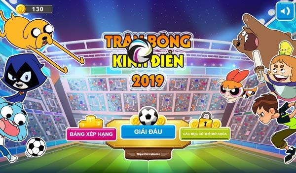 Chơi game Trận bóng kinh điển 2019 trên GameVui