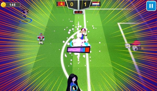 Ghi bàn trong trận bóng kinh điển 2019 GameVui