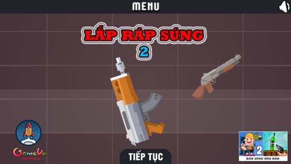 Chơi game Lắp ráp súng 3 tại GameVui