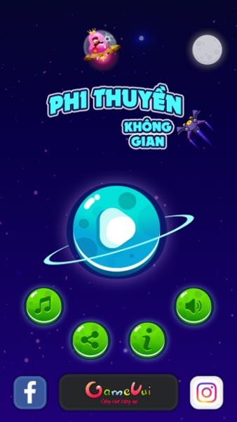 Chơi game Phi thuyền không gian - GameVui