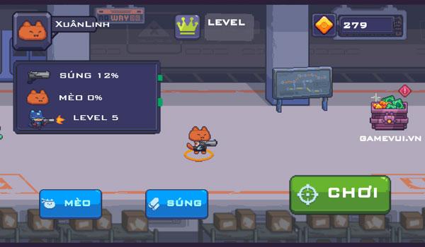 Chơi game Mèo sát thủ diệt Zombies - GameVui