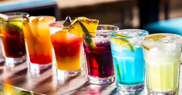 Colorful Mix Drink