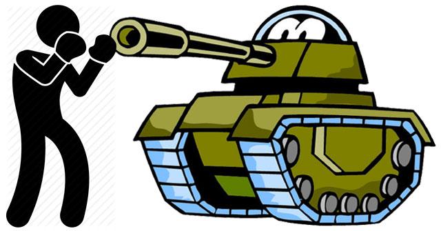 Người que bắn xe tăng