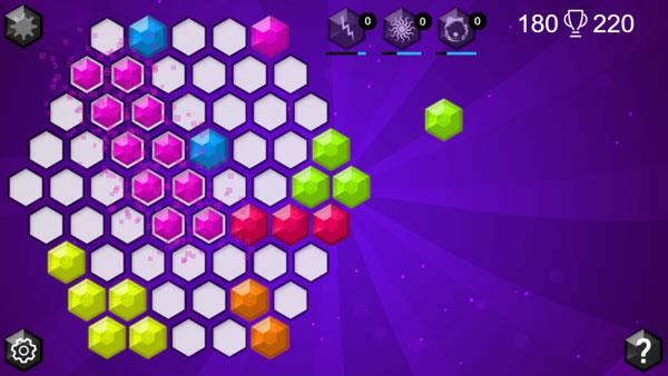 Chơi game Xếp hình lục giác 2 - GameVui