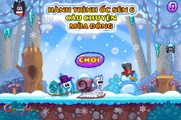 Chơi game Hành trình Ốc sên Snail Bob 6 - GameVui
