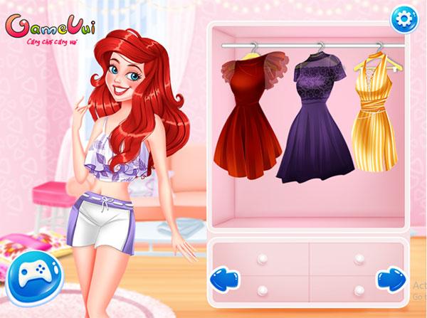 Hãy chọn đồ cho Ariel