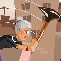 Bà già bạo lực