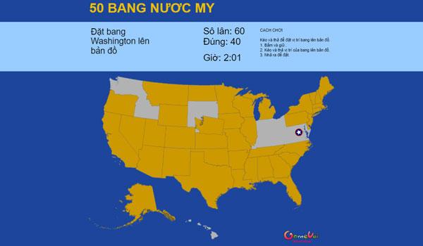 50 bang nước Mỹ