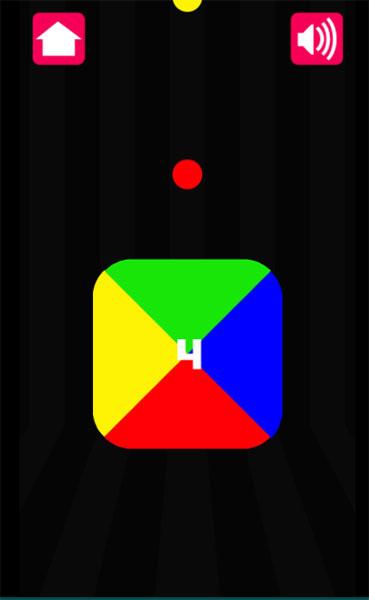 Hãy xoay khối rubic với màu đỏ