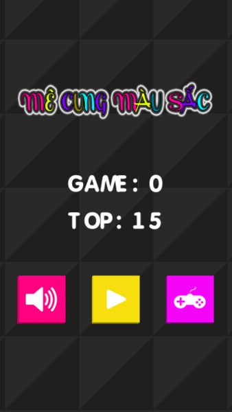 Chơi game Mê cung màu sắc - GameVui