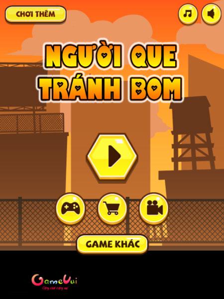 Chơi game Người que tránh bom - GameVui