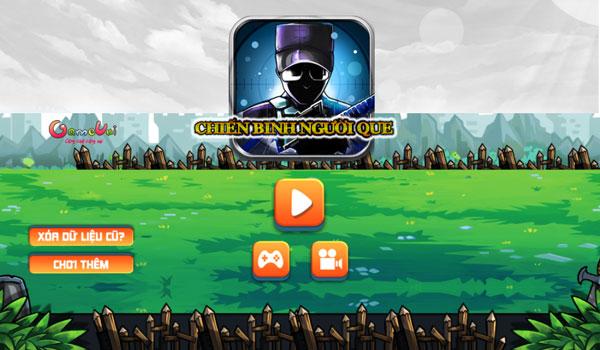 Chơi game Chiến binh người que - gameVui