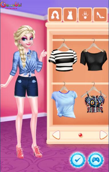 Hãy chọn trang phục cho Elsa