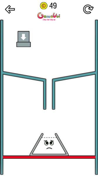 Chơi game Đổ nước - Happy Glass thật khéo léo