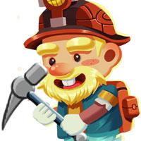 Ông già đào mỏ