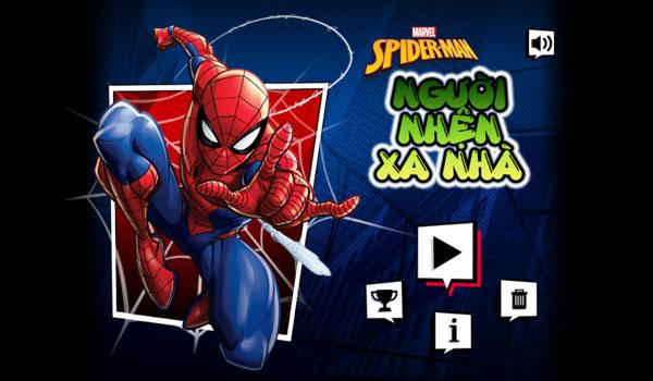 Chơi game Người nhện xa nhà - GameVui