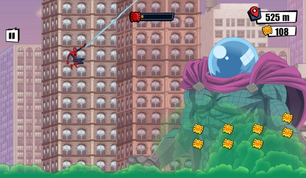 Chiến đấu với Mysterio