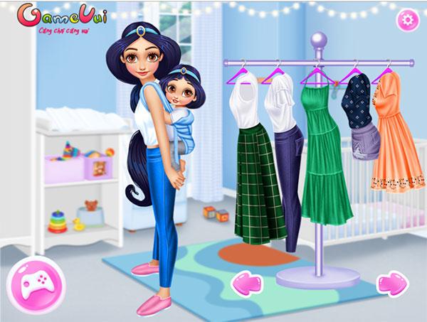 Hãy chọn trang phục cho Jasmine