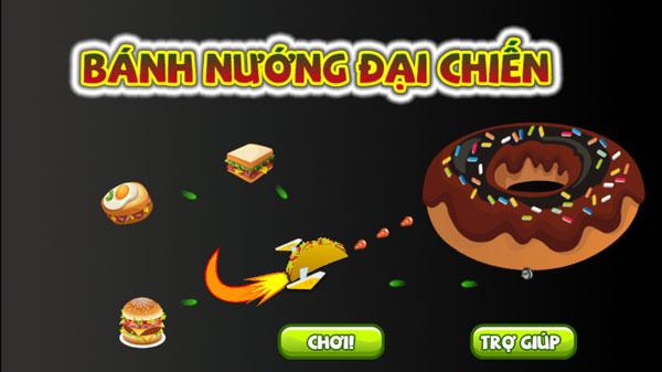 Chơi game Bánh nướng đại chiến - GameVui