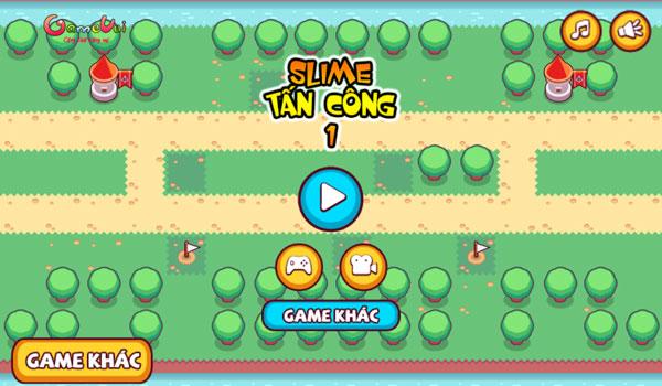 Chơi game Slime tấn công 1 - GameVui