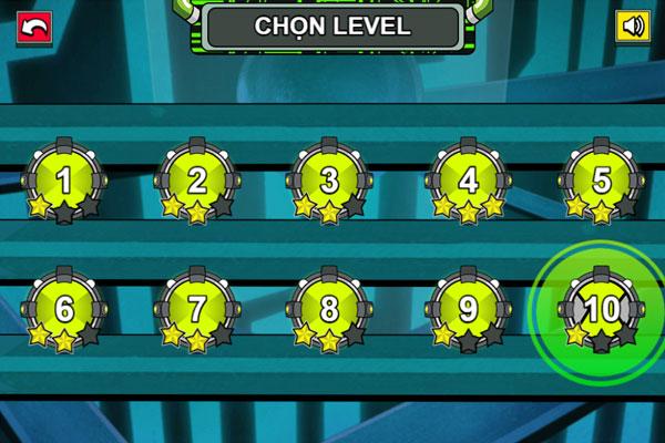 Chọn level thử thách