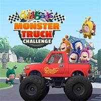 Oddbods Monster Truck Driving