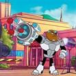 Teen Titans Go: Cyborg bắn đồ ăn