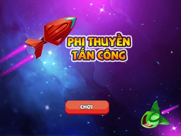 Chơi game Phi thuyền tấn công - GameVUi