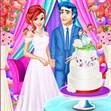 Ariel làm bánh cưới