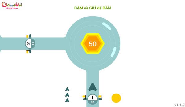 Chơi game Nhanh tay bắn số - GameVui