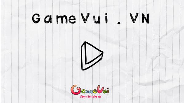Chơi game Bắn thiên thạch trên giấy - GameVui