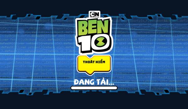 Chơi game Ben 10 thoát hiểm - GameVui