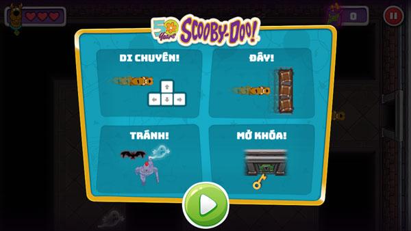 Cách chơi game Scooby Doo