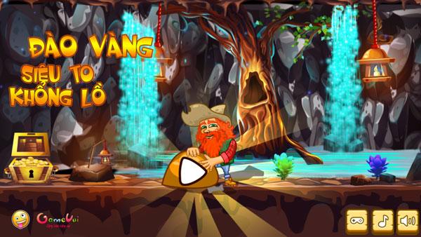 Chơi game Đào vàng siêu to khổng lồ - GameVui