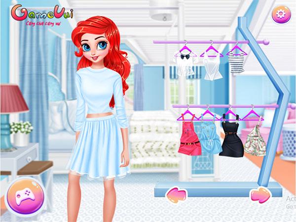 Hãy chọn trang phục cho Ariel