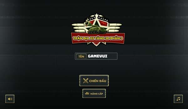 Chơi game Trận địa xe tăng 3D phần 3 - GameVui