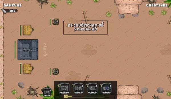 Hướng dẫn bắn xe tăng